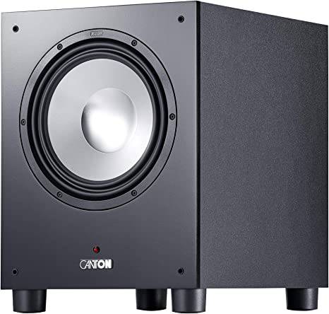 Canton Sub 10 4 Black Audio Hifi