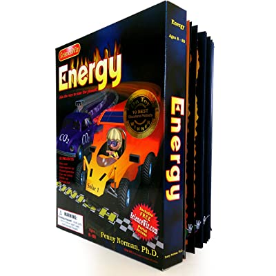 ScienceWiz / Energy Experiment Kit: Norman, Penny, Norman, Penny, Ph.D., Norman, Kevin, Huff, Art: Toys & Games