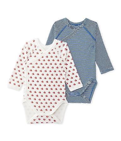 Petit Bateau Conjunto de Ropa Interior para Bebés (Pack de 2)