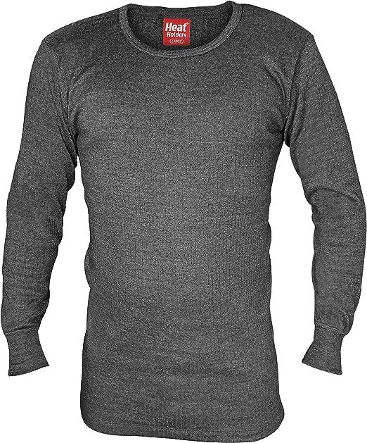 HEAT HOLDERS - Hombre Algodon Invierno Manga Larga Camiseta ...