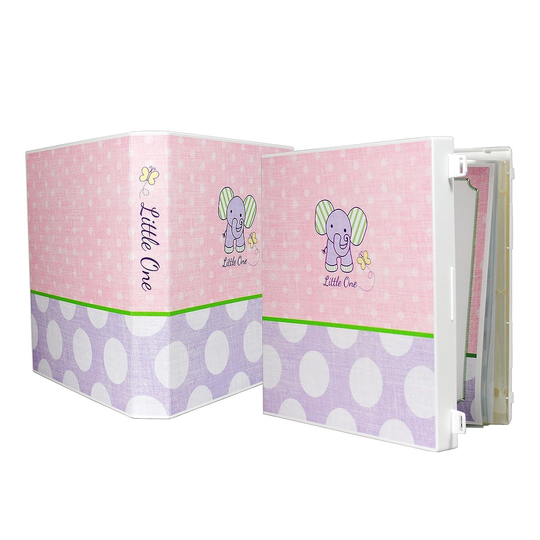 Baby Girl Memory Book - Elephant Unikeep