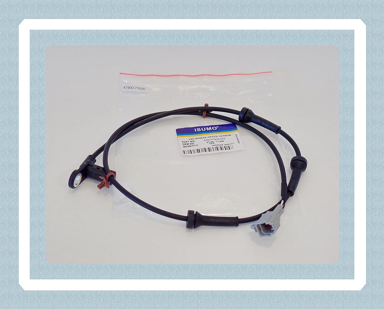 Rear Right ABS Wheel Speed Sensor For Nissan Maxima 47900-7Y000 SU12667 5S11214