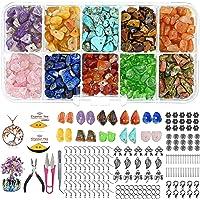 Pesonlook Kristallen Chips Edelsteen Kralen voor het maken van sieraden, Ring Kit Sieraden Onregelmatige Chips Steen…