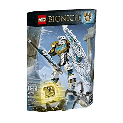 LEGO Bionicle Kopaka - Master of Ice Toy (70788), (Discontinued by manufacturer): Toys & Games