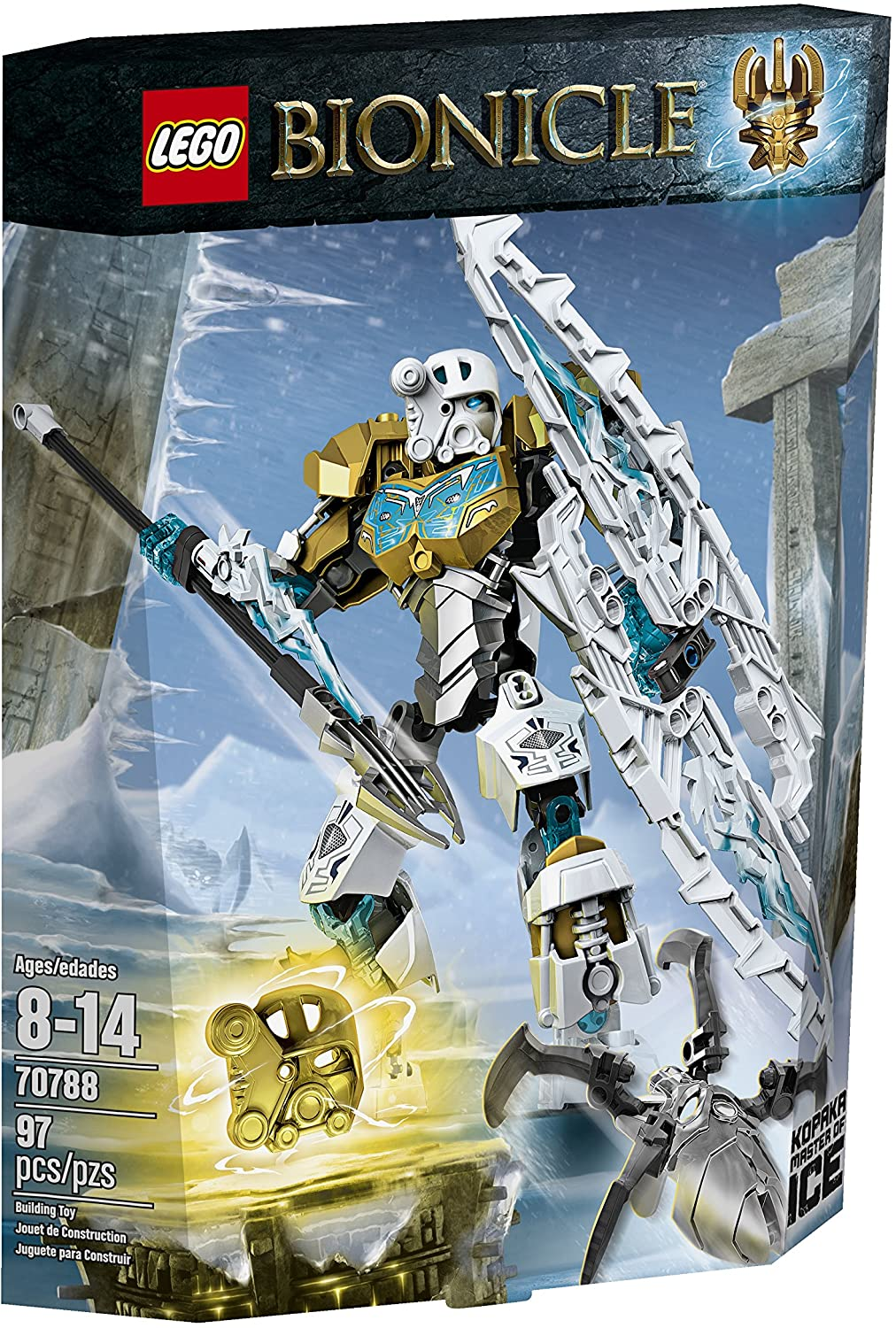 LEGO Bionicle Kopaka - Master of Ice Toy (70788), (Discontinued by manufacturer)