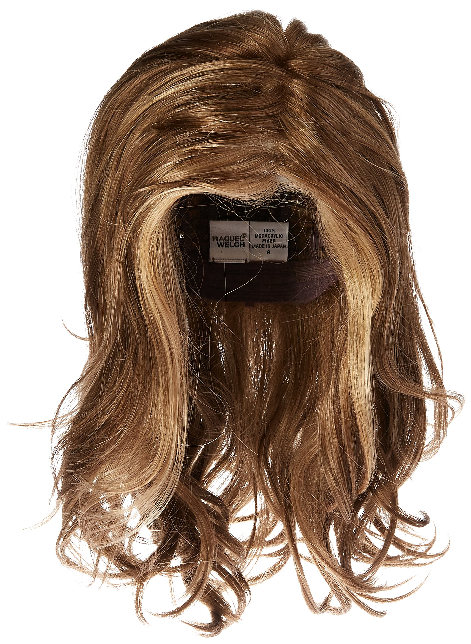Hairdo Love Love Love Long Full Length Straight Hair With Soft Natural Wave Highlights, R12/26H Honey Pecan by Hairuwear by Hair u wear