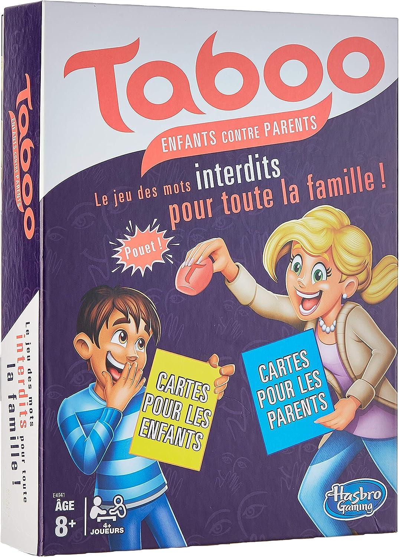 HASBRO GAMING - Taboo, Family Edition - Juego de mesa, juego de ...
