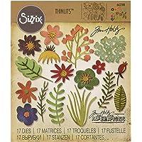 Sizzix 662700 Thinlits Die Set 17PK - Funky Floral #1