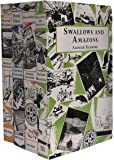 Swallows and Amazons Series Collection Series 4 Books (Winter Holiday, Peter Duck, Swallowdale, Swallows and Amazons)