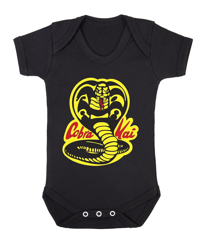 Dogsdonuts Cobra Kai Karate Kid Themed Cute Funny Babygrow Bodysuit