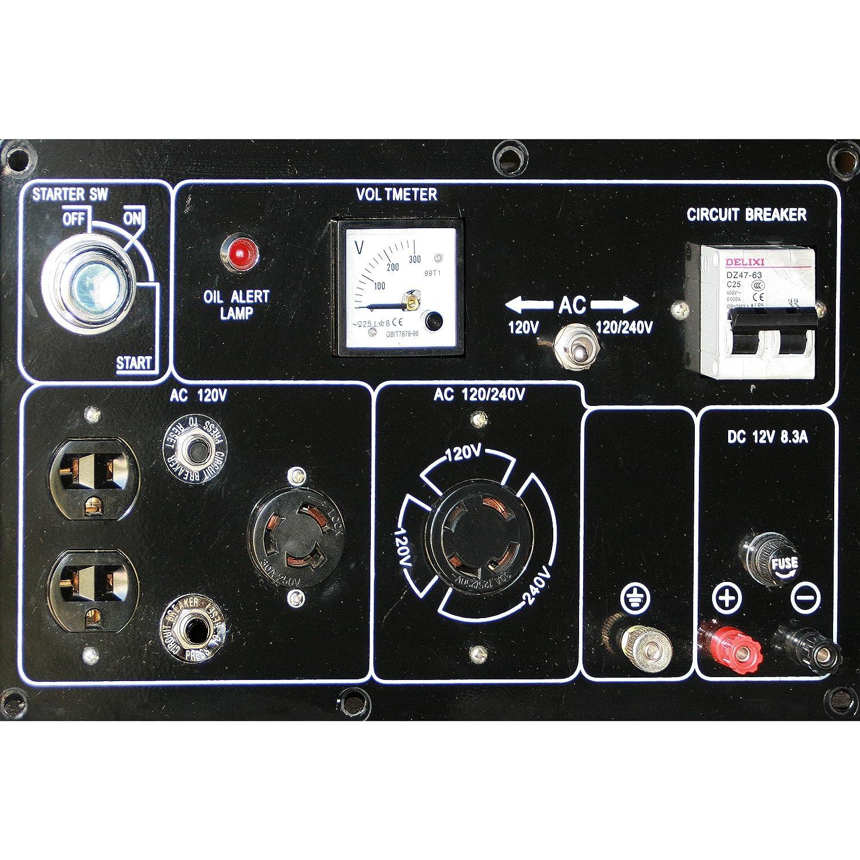 Amazon Pro Series GENSD7 5500 Running Watts 7000 Starting