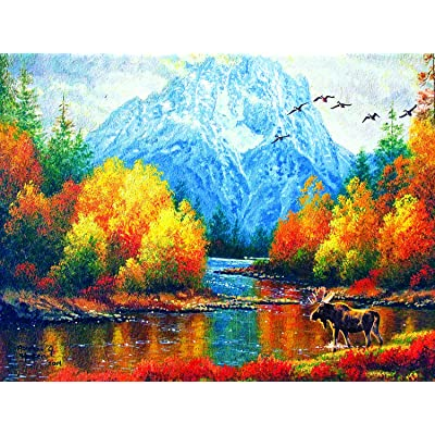 Moran Reflections 500 pc Jigsaw Puzzle by SUNSOUT INC: Toys & Games