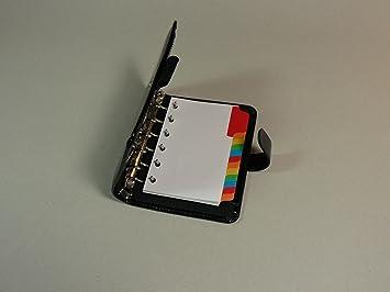 Agenda organizador divisores 12 multicolores con bolsillo ...