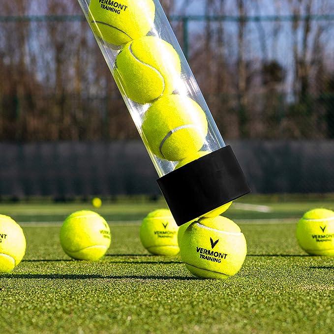 Amazon.com: De recogida de pelotas de tenis Tubo [Net World ...