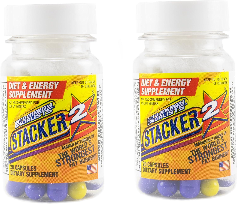NVE Pharmaceuticals Stacker 2 Black Burn - caps (Supliment pentru arderea grasimilor) - Preturi