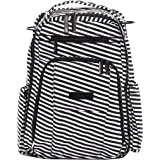 JuJuBe Diaper Backpack | Multi-Functional, Structured, Waterproof, Stylish, Changing Pad + Insulated Pockets Included…
