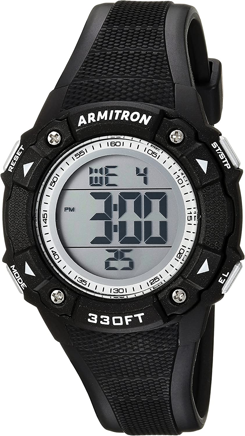 Armitron Sport Women s Digital Chronograph Teal Resin Strap Watch