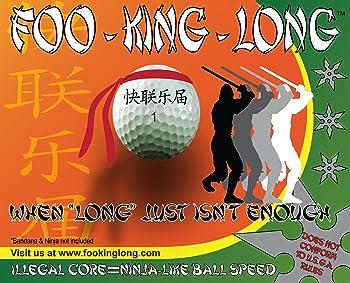 Foo-King-Long Golf Balls