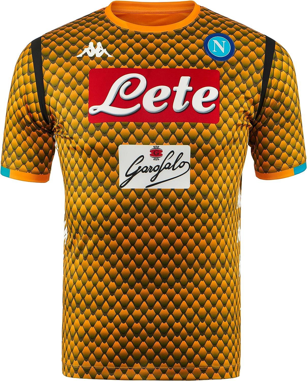 SSC Napoli Camiseta de portero visitante réplica: Amazon.es: Ropa y accesorios
