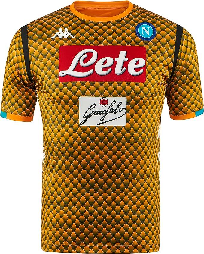 SSC Napoli Camiseta de portero visitante réplica naranja fantasía, naranja, xxl: Amazon.es: Ropa y accesorios