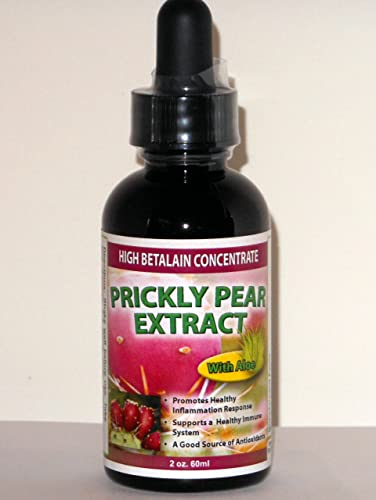 Prickly Pear Extract with Aloe 1-Pack – High Betalain Concentrate