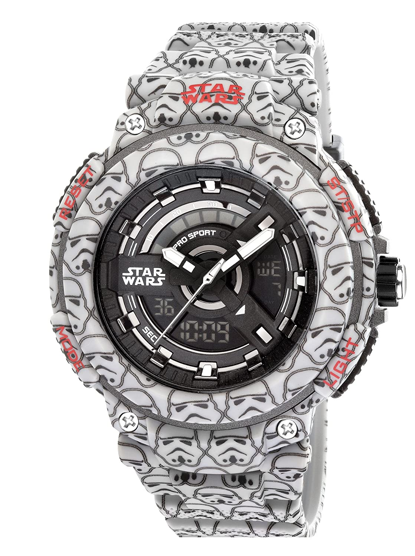 Amazon.com: AM: PM Hombre de Star Wars Storm Trooper Reloj ...