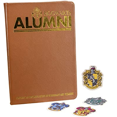 Paladone Hogwarts Alumni Notebook and Sticker Set : Office Products