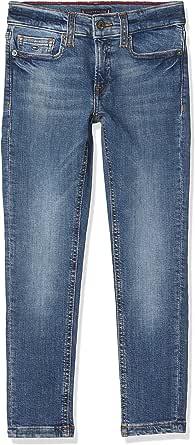 Tommy Hilfiger Steve Slim Tapered Umgbst Jeans para Niños