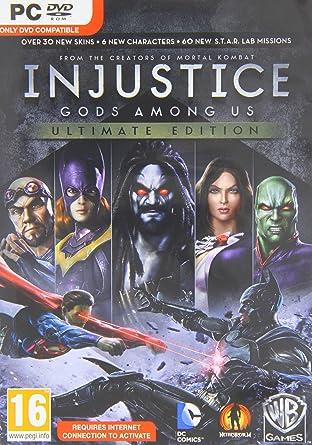 Amazon injustice gods among us ultimate edition pc dvd uk injustice gods among us ultimate edition pc dvd uk import voltagebd Images