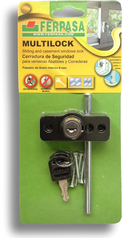 Cerradura Multilock (Plata) Ferpasa