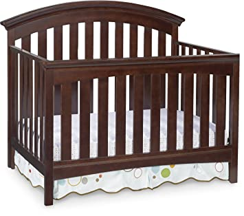Delta Children Bentley 4 In 1 Convertible Crib Chocolate