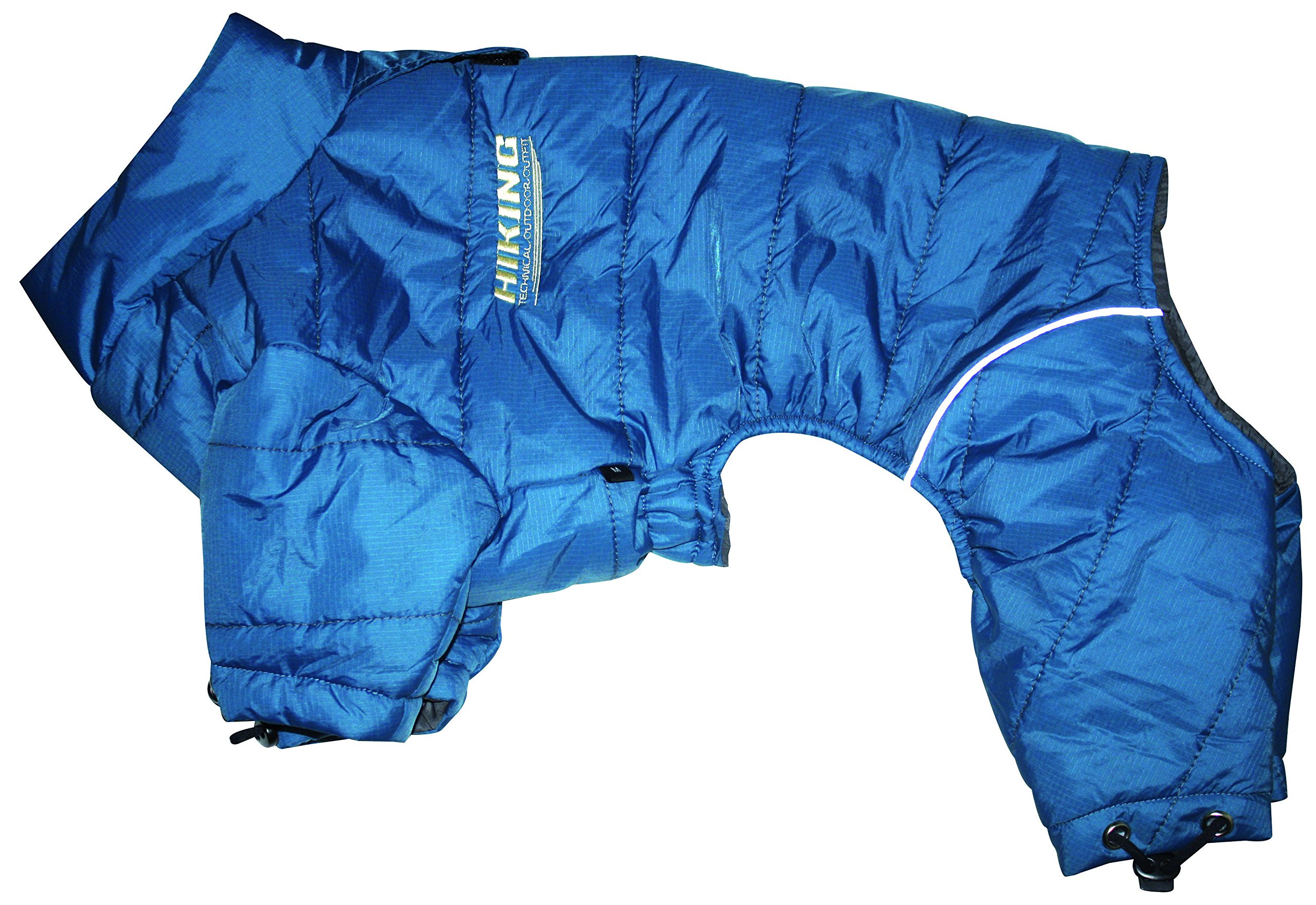 Croci Waterproof Tracksuit Hiking for Dogs, 30-32 cm, Blue by Croci