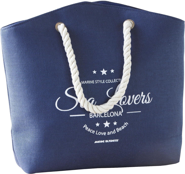 Marine Business Bora Mano Bag-Blue con Design Elegante Taglia Unica
