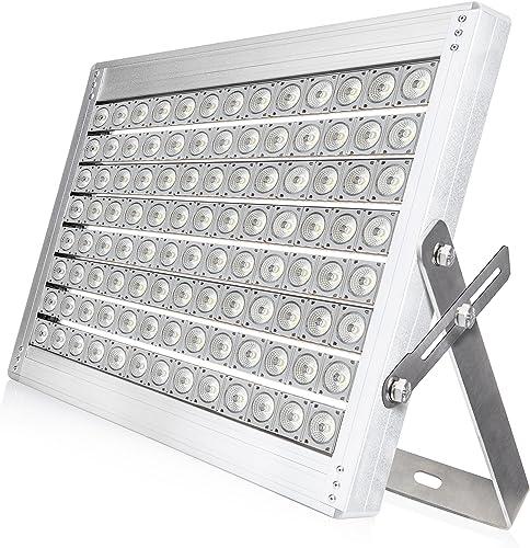 Hyperikon Pro LED Stadium Light, 1000W Outdoor Arena Flood Light, 3500W-5000W Equivalent ETL, DLC