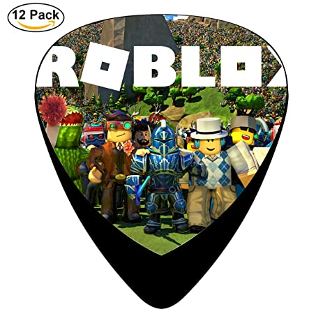 Roblox Wallpaper Guitar Picks Celluloid 12 Pack Complete Set ONE SIZE