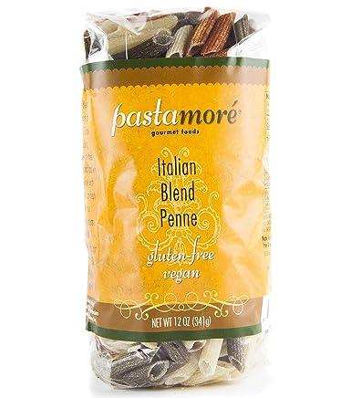 pastamore sin gluten Pasta, Italiano mezcla Penne, 12 Onza ...