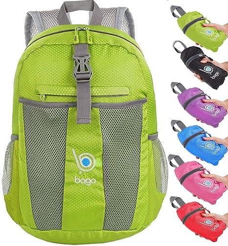 1d28a0a41c Packable zaino per uomini, donne e bambini – leggero e pieghevole – Zaino da  utilizzare