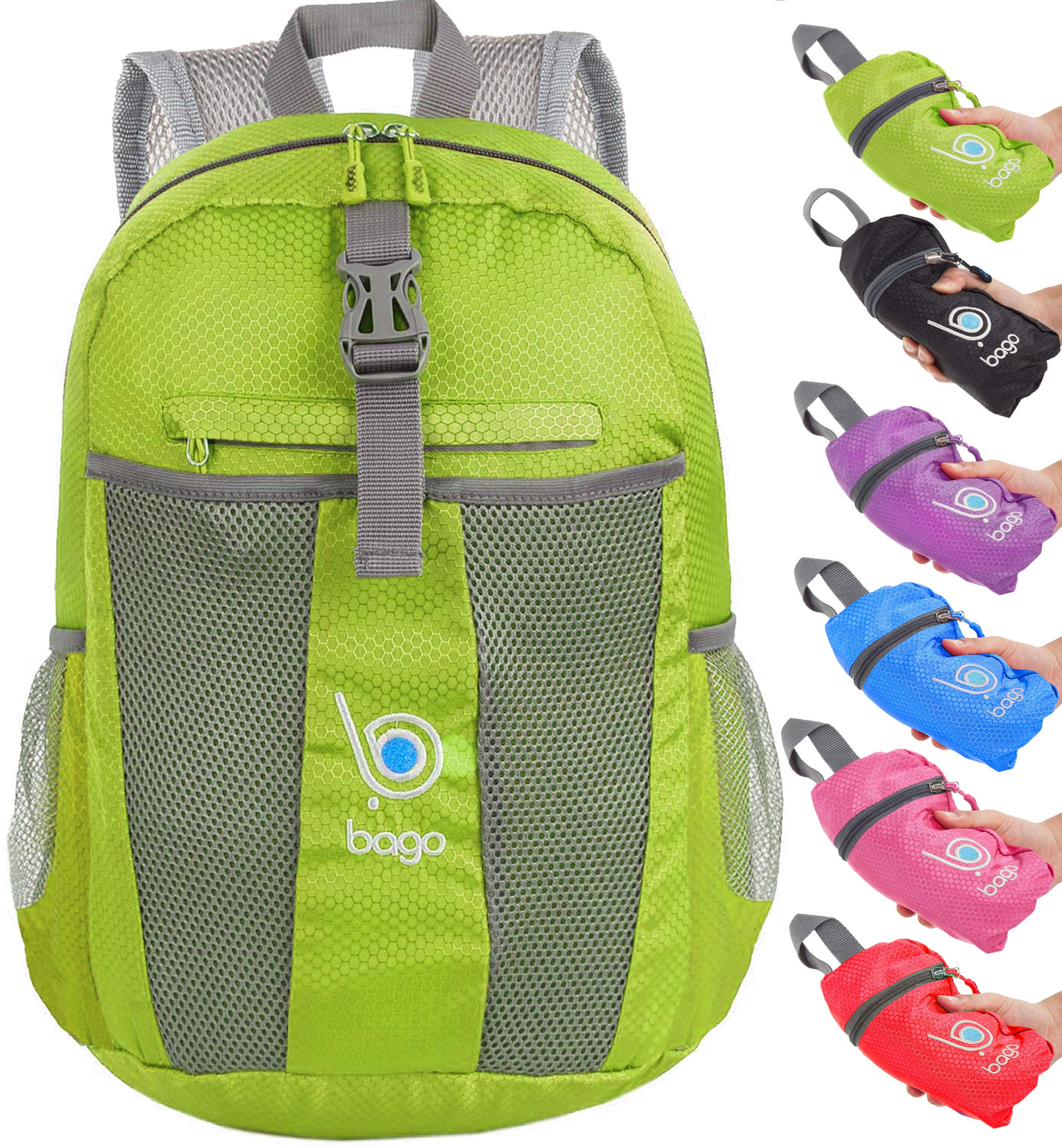 fac6c2cea002 bago 25L Lightweight Packable Backpack - Water Resistant Travel Hiking  Foldable Camping Outdoor Backpack product image