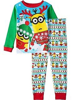 691bd16a4f Amazon.com  AMGLISE Christmas Pajamas Set Santa Claus Cotton Pajamas ...