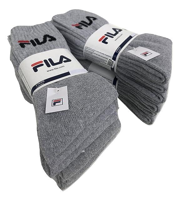 FILA.. - Calcetines de deporte - para hombre 6 paia grigio 35-38