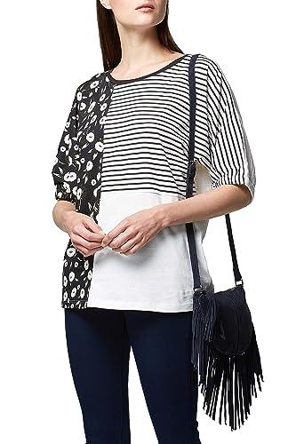 next Mujer Camiseta con Mezcla De Estampados Corte Regular
