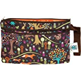 Planet Wise Clutch Wet/Dry Bag, Jewel Woods