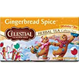 Celestial Seasonings Herbal Tea, Gingerbread Spice, 20 Count (Pack of 6)