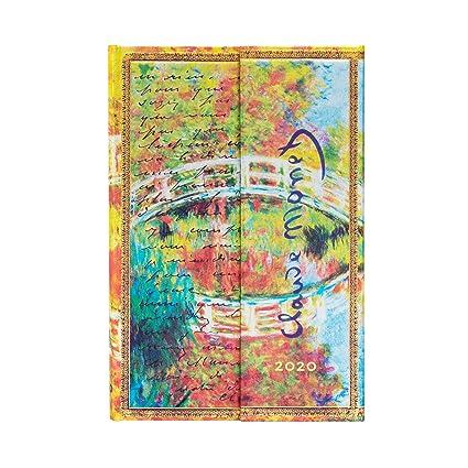 Paperblanks - Calendario de 12 meses 2020, diseño de Monet ...