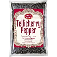 Spicy World Peppercorn(全部)-黑泰利斯,453.59 克。 包 -