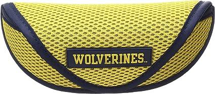 NCAA Michigan Wolverines Sports Sunglasses Case Yellow