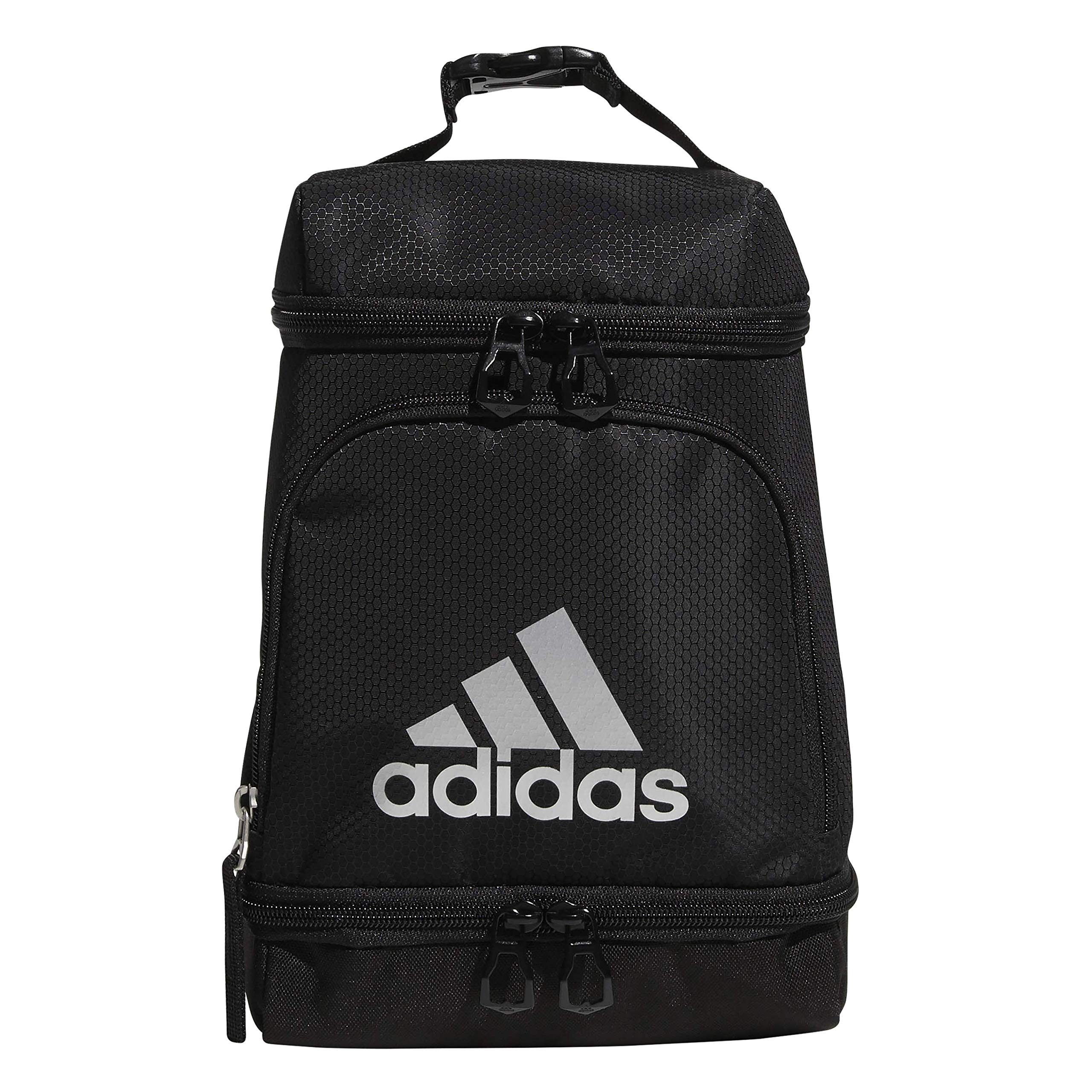 adidas Unisex Excel Insulated Lunch Bag, Black, ONE SIZE by adidas