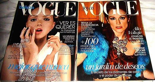 Vogue Joyas Jewelry 2 Magazines Latino America Autumn/DEC 2008 Spanish
