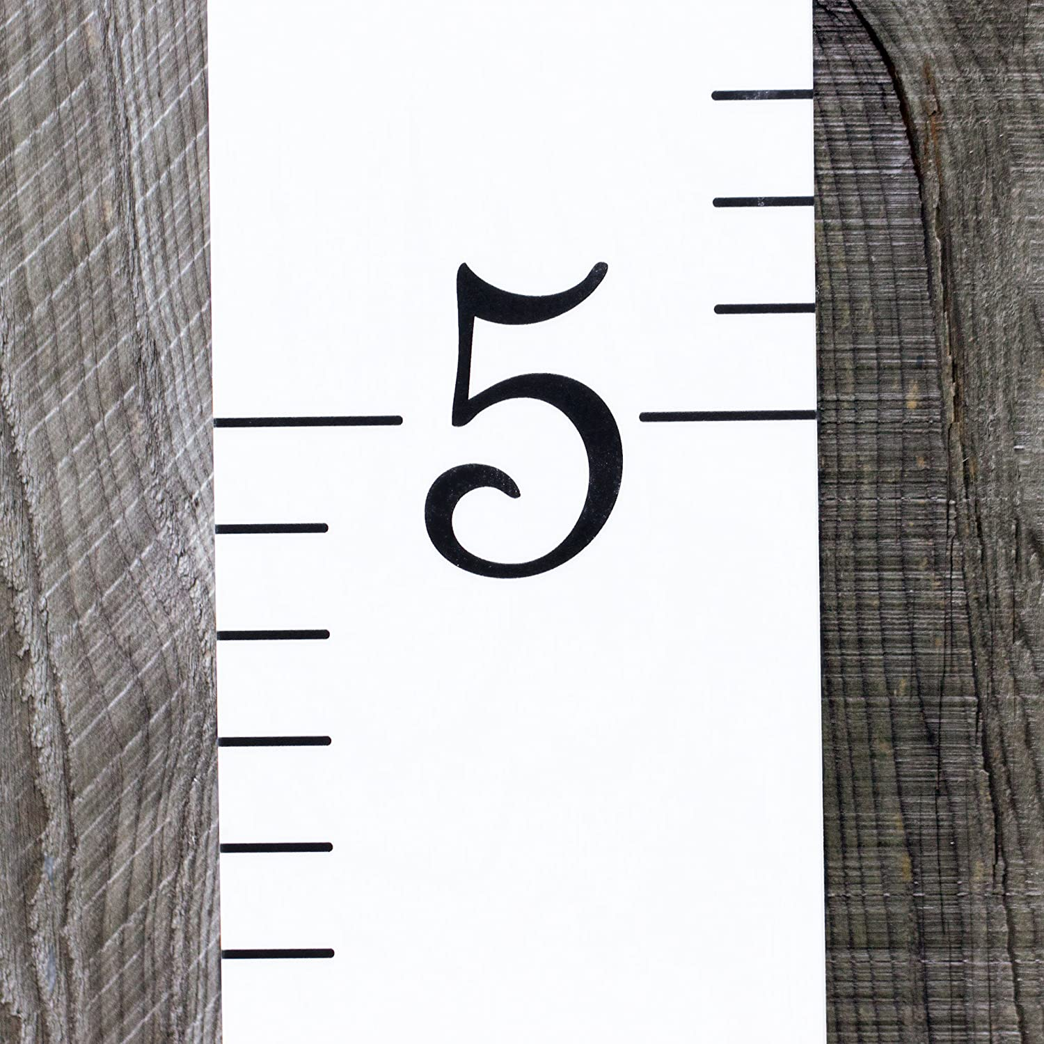 """Girls White with Navy Numerals and Saying /""""Love Grows Here/"""" Measuring Kids Height Wall D/écor Wooden Growth Chart Ruler Kids Height Chart for Boys Growth Chart Art"""