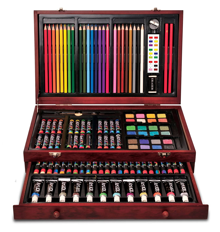 Amazon.com: Art 101 All-Media Art Set (119-Piece): Toys & Games